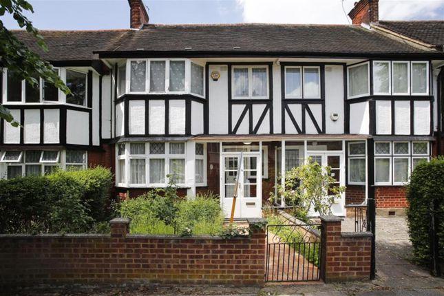 Thumbnail Terraced house to rent in Tudor Gardens, Acton