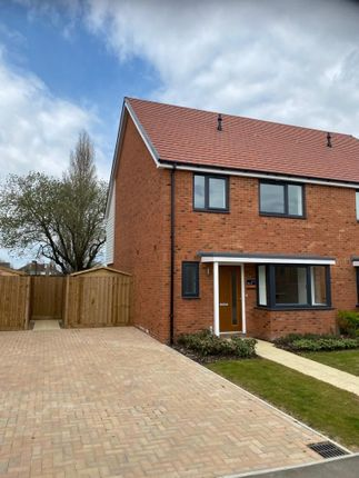 Thumbnail Semi-detached house to rent in Smedley Road, Faversham