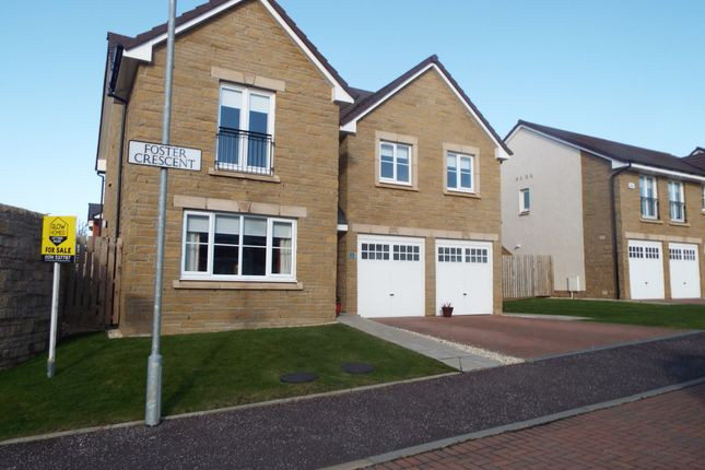 Thumbnail Detached house for sale in Foster Crescent, Troon
