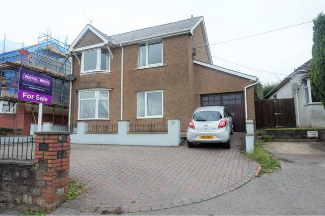 Thumbnail Detached house for sale in Usk Road, Pontypool