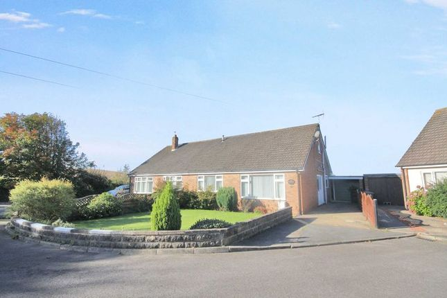 Thumbnail Semi-detached bungalow for sale in Norfield, Glebe Gardens, Easington