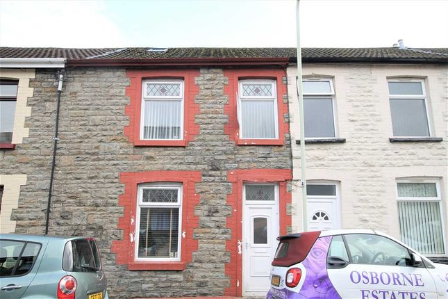 Thumbnail Terraced house for sale in Gilmour Street, Tonypandy