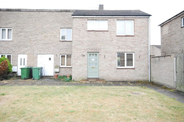 Thumbnail End terrace house to rent in St. Johns Way, Thetford