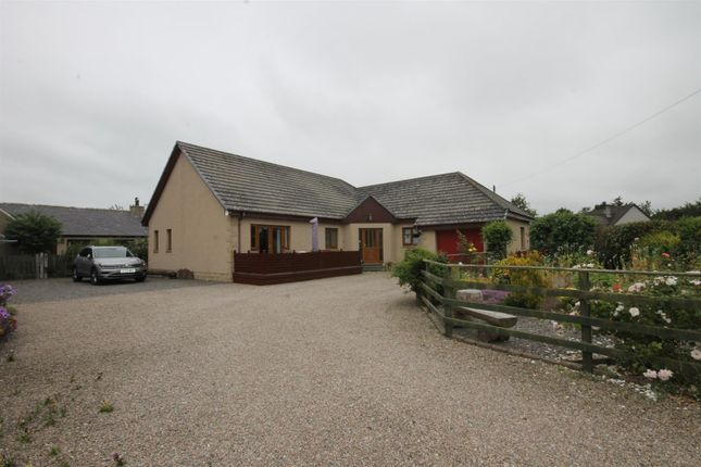 Thumbnail Detached bungalow for sale in Octril, 8 The Muir, Spey Bay