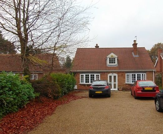 Thumbnail Bungalow to rent in Dereham Road, New Costessey, Norwich