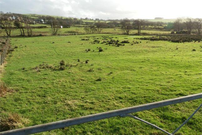 Land for sale in Crug Yr Eryr Isaf, Talgarreg, Llandysul, Ceredigion