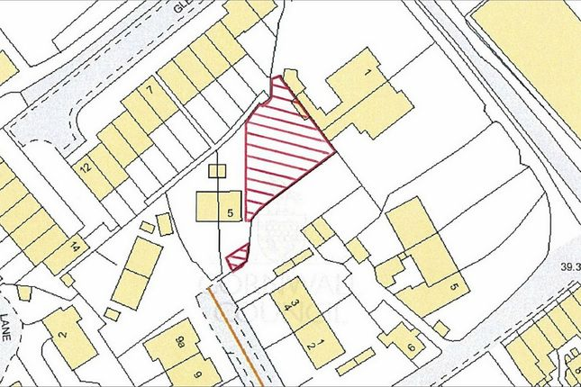 Thumbnail Land for sale in Adj To 5 Ledrah Gardens, St Austell, Cornwall