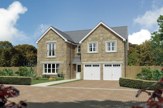 "Thumbnail Detached house for sale in ""Malborough"" at Meikle Earnock Road, Hamilton"