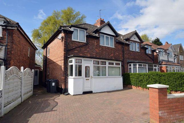 Thumbnail Semi-detached house for sale in Gladstone Road, Erdington