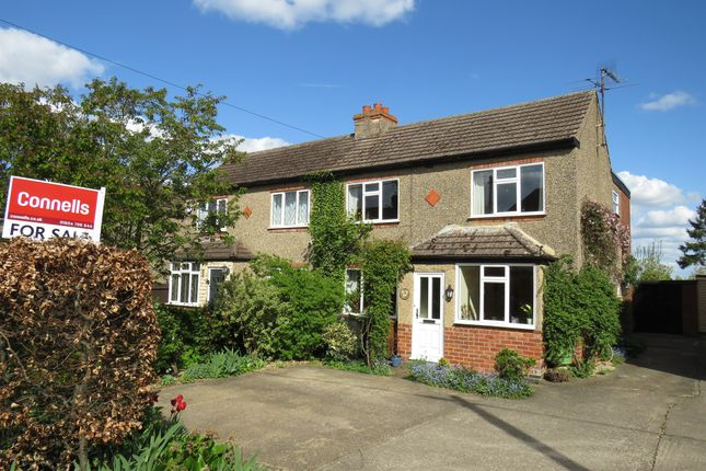 3 bed semi-detached house for sale in The Warren, Hardingstone, Northampton