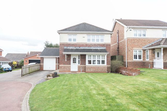 Thumbnail Detached house for sale in Oakwood Close, Hartlepool