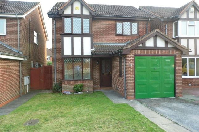 Thumbnail Detached house to rent in Tavistock Close, Stenson Fields, Derby