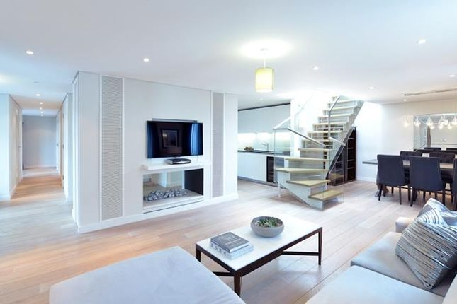 Thumbnail Flat to rent in Merchant Square W2,