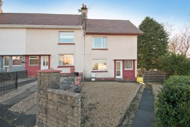 Thumbnail End terrace house for sale in Queens Avenue, Largs, North Ayrshire, Scotland
