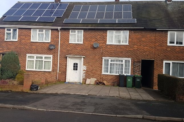 Thumbnail Terraced house to rent in Meyrick Road, West Bromwich