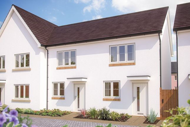 """Thumbnail Terraced house for sale in """"The Hawthorn"""" at Great Brier Leaze, Patchway, Bristol"""