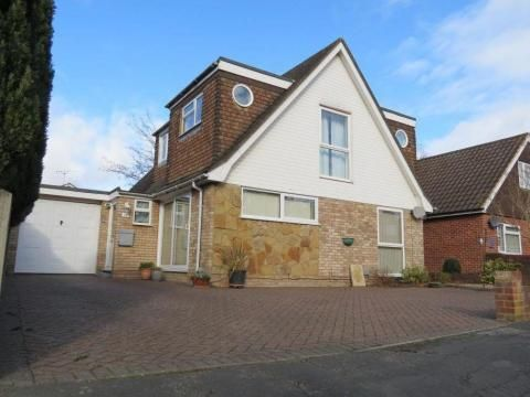 Thumbnail Detached house to rent in Frimley Green, Camberley