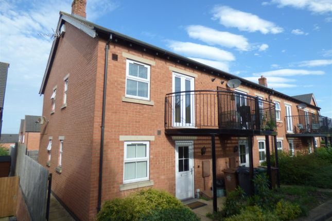 1 bed end terrace house to rent in St Martins Close, Church Gresley, Swadlincote DE11