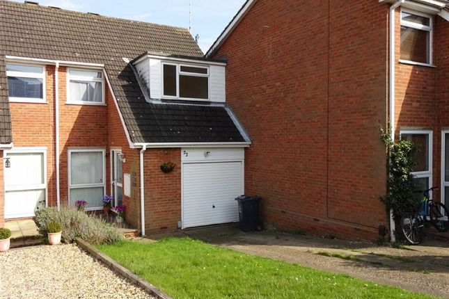 Thumbnail Terraced house for sale in Woburn Close, Bragbury End, Stevenage, Herts