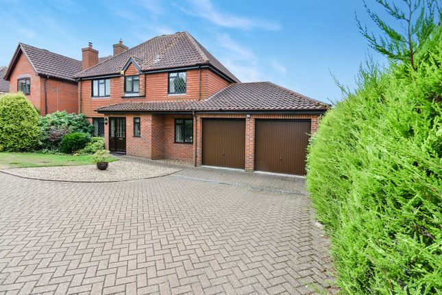 Thumbnail Detached house for sale in Roydon Road, Roydon, Diss
