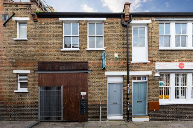 Entrance of Ezra Street, London E2