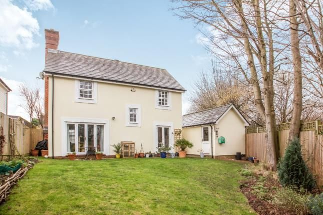 Thumbnail Detached house for sale in Carmel Close, Chartham, Canterbury, Kent