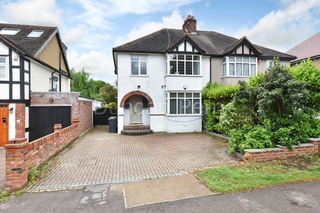 Thumbnail Semi-detached house for sale in The Walk, Potters Bar