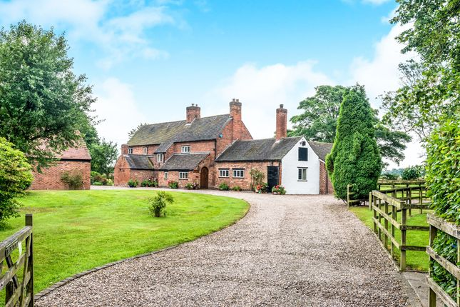 Thumbnail Detached house for sale in Shaw Lane, Kings Bromley, Burton-On-Trent