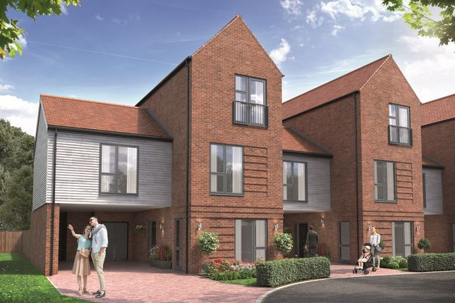 Thumbnail Terraced house for sale in Chilmington Lakes, Great Chart, Ashford