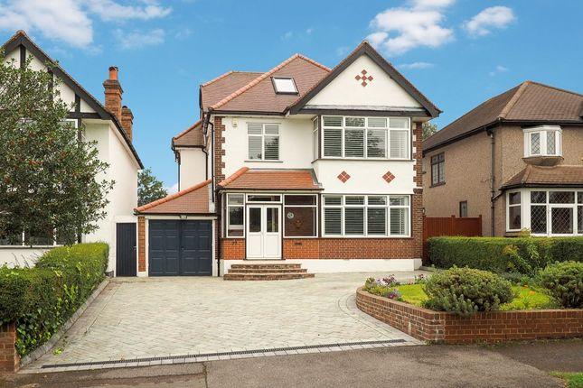 Thumbnail Detached house for sale in Princes Avenue, Carshalton
