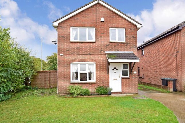 Thumbnail Detached house for sale in Chadwick Close, Northfleet, Gravesend, Kent