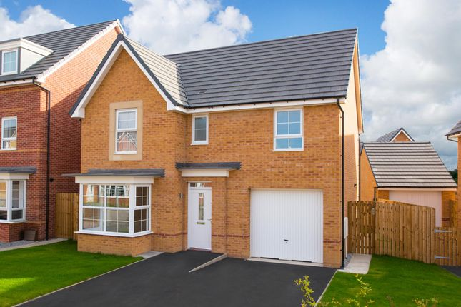 "Thumbnail Detached house for sale in ""Somerton"" at Station Road, Methley, Leeds"