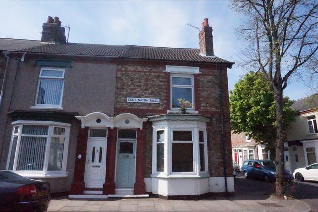 Thumbnail End terrace house for sale in Kensington Road, Oxbridge, Stockton-On-Tees