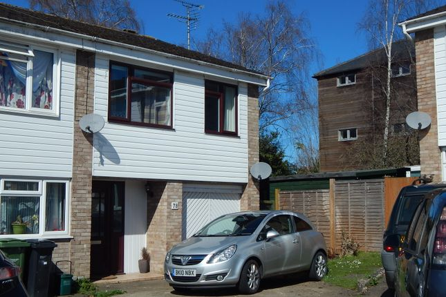 Thumbnail End terrace house to rent in Winterborne Road, Abingdon