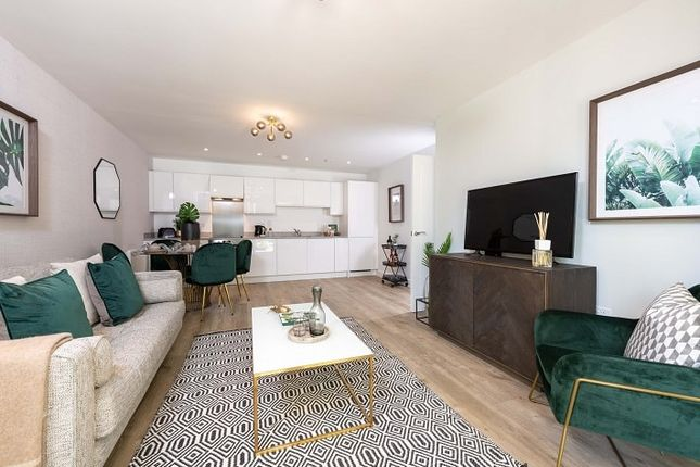 """2 bed flat for sale in """"Two Bedroom Apartment - Somers House"""" at Walton Court Gardens, Station Avenue, Walton-On-Thames, Surrey KT12 1Ns, Walton-On-Thames,"""