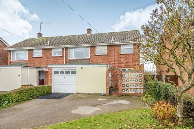 Thumbnail Semi-detached house for sale in Glebe Road, Kelvedon, Colchester