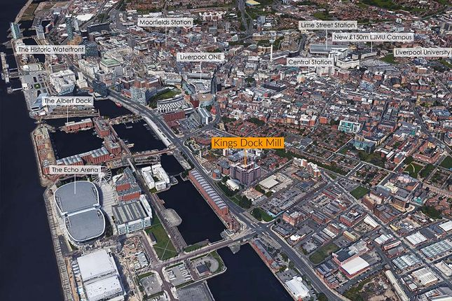 Thumbnail Flat for sale in King'S Dock Mill, Hurst Street, Liverpool