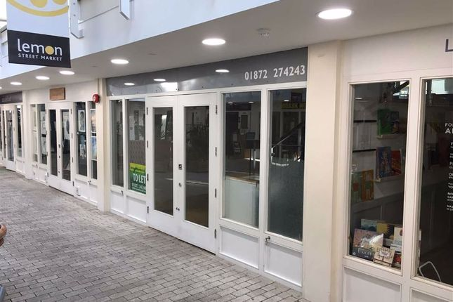 Thumbnail Retail premises to let in Unit 9, Lemon Street Market, Truro