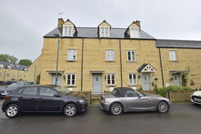 Thumbnail 3 bedroom terraced house for sale in Coln Gardens, Andoversford, Cheltenham, Glos