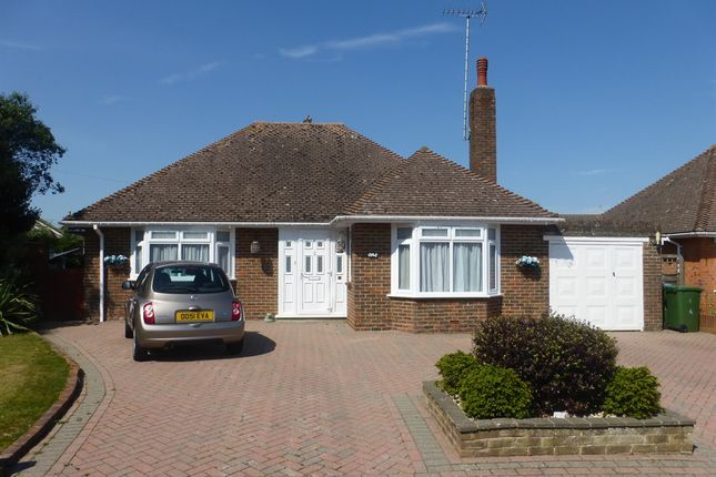 Thumbnail Detached bungalow for sale in Grange Close, Ferring, Worthing
