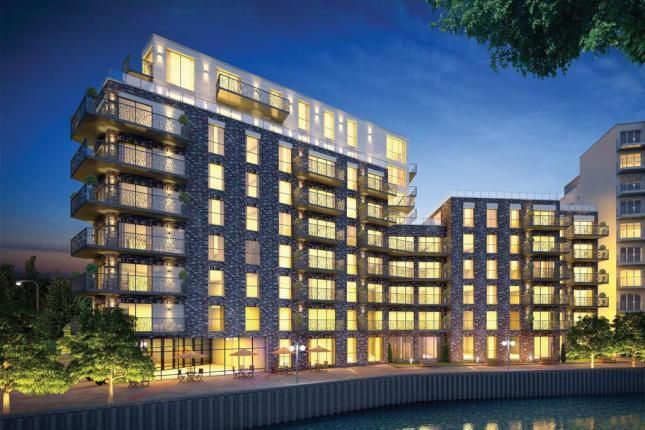 Thumbnail 2 bed flat for sale in Leven Wharf, Poplar, London