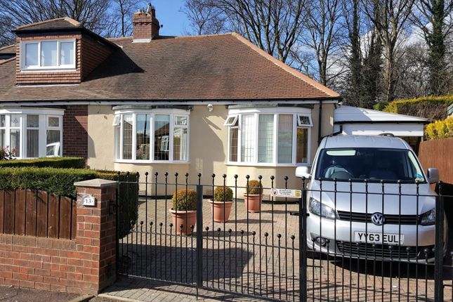 Thumbnail Bungalow for sale in Ashleigh Crescent, Denton Burn, Newcastle Upon Tyne