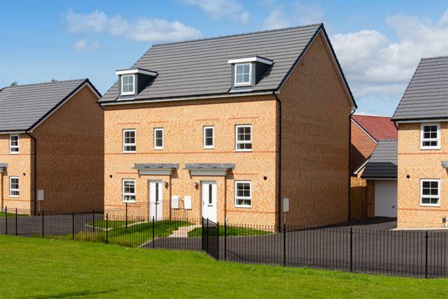 "Thumbnail Semi-detached house for sale in ""Woodcote"" at Norton Road, Norton, Stockton-On-Tees"