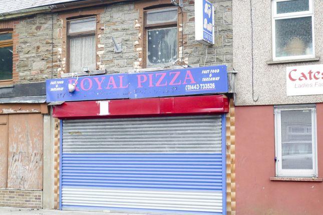 Thumbnail Retail premises for sale in Maerdy Road, Maerdy -, Ferndale
