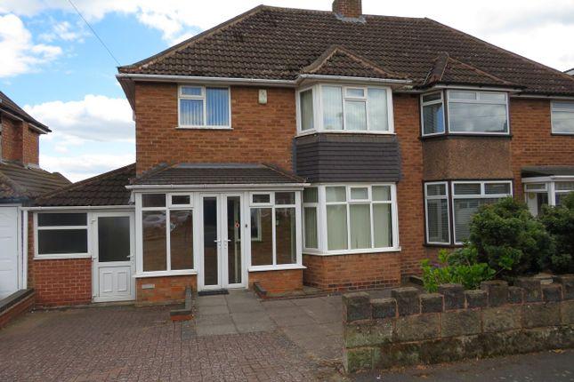 Thumbnail Semi-detached house for sale in Blandford Avenue, Castle Bromwich, Birmingham