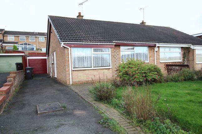 2 bed semi-detached bungalow to rent in Hawks Drive, Burton-On-Trent