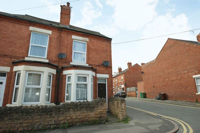 Thumbnail End terrace house to rent in Strelley Street, Bulwell, Nottingham
