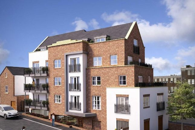 Thumbnail 1 bed flat for sale in Henry Place, The Mount, Brentwood, Essex