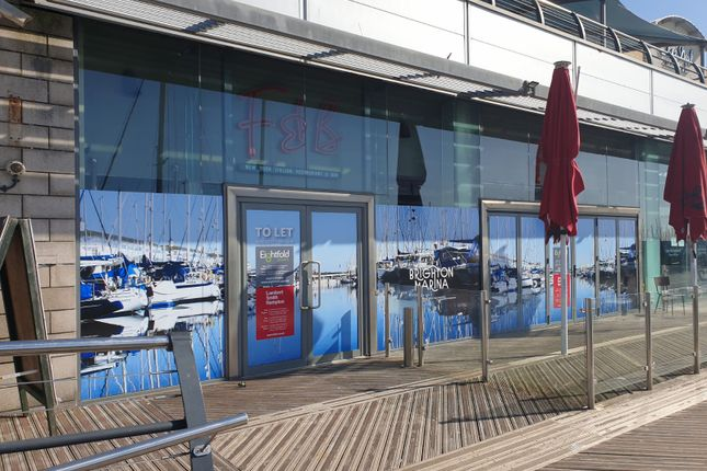 Thumbnail Restaurant/cafe to let in 3 The Waterfront, Brighton Marina Village, Brighton, Brighton