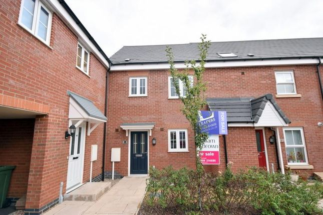 Thumbnail Town house for sale in Aitken Way, Loughborough